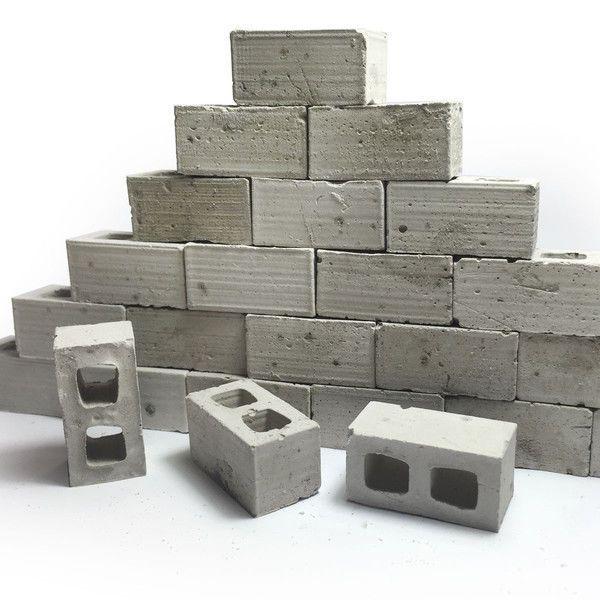 Miniature Brick Block 1 10 Scale Rc Accessory Axial Scx10 Tamiya