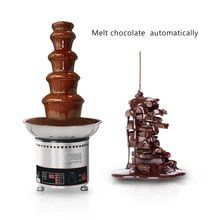 Commercial 4/5/6/7 Tiers Chocolate Fountain , Stainless Steel Automatic Chocolate Melting Pot Machine 4kg Chocolate Capacity #chocolatefountainfoods Commercial 4/5/6/7 Tiers Chocolate Fountain , Stainless Steel Automatic Chocolate Melting Pot Machine 4kg Chocolate Capacity #chocolatefountainfoods