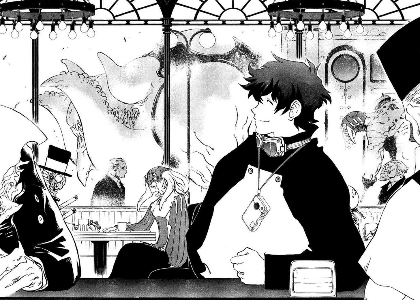 Kekkai Sensen Manga