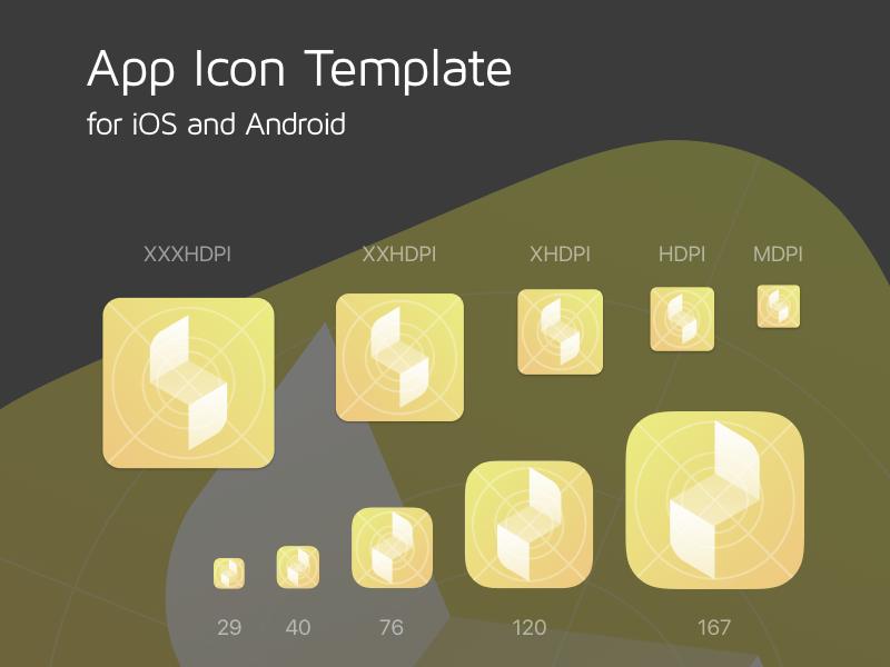 app icon template free sketch app resources pinterest app icon