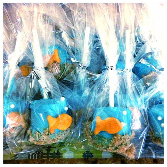 24 Ocean Underwater Sea Life Marshmallow Pops Party Favor