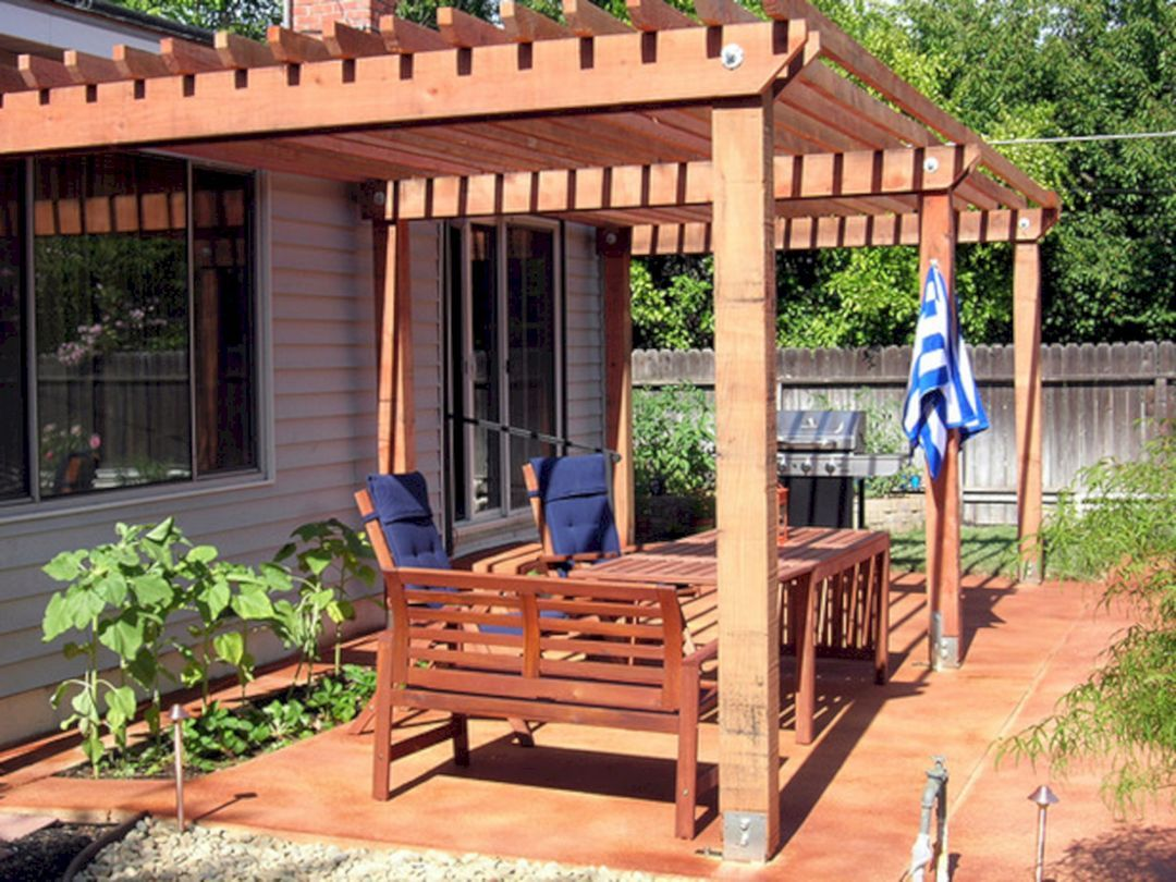 25 Wonderful Diy Backyard Shade Structure That Easy To Build