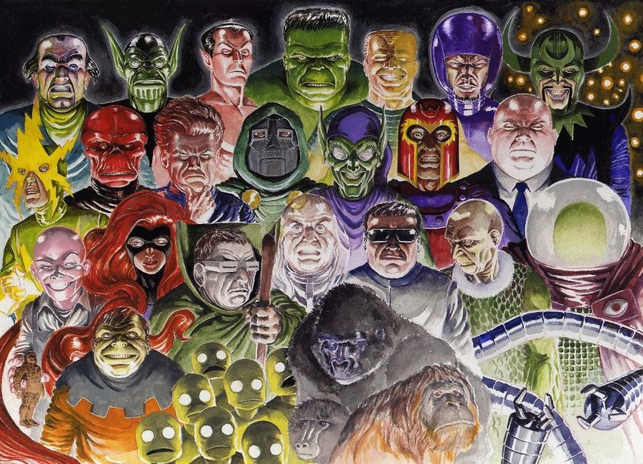 Marvel Comics Cool Villains | More Marvel villains by ~Nick
