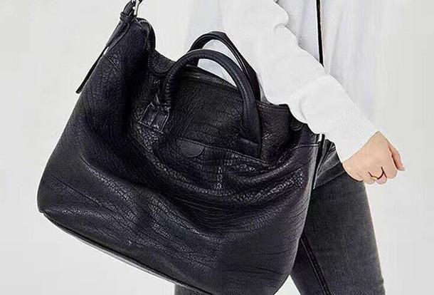 Handmade Genuine Leather Large Handbag Shopper Bag Crossbody Bag Shoul 0cfdc1fa328e3