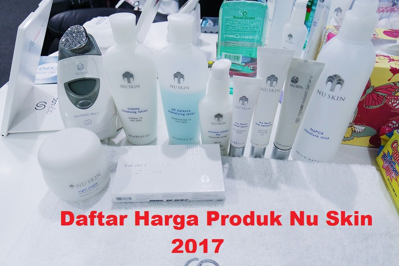 Produk Nu Skin Untuk Kulit Berminyak Dan Berjerawat