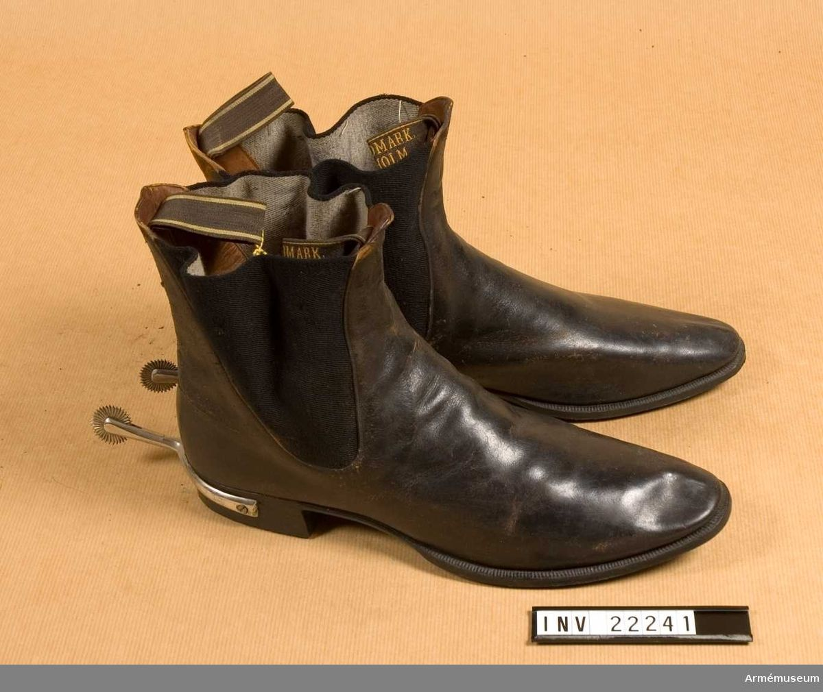 Officer's Boot at the 2nd Life Grenadier Regiment