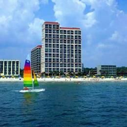Beach Colony Resort Myrtle South Carolina Sc Hotels