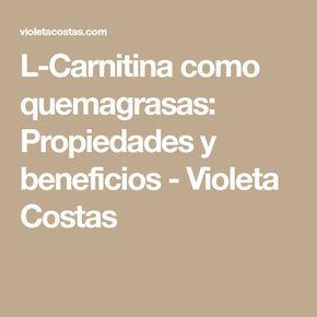 L carnitina – Que es, beneficios, efectos secundarios, como tomar,  adelgazar,