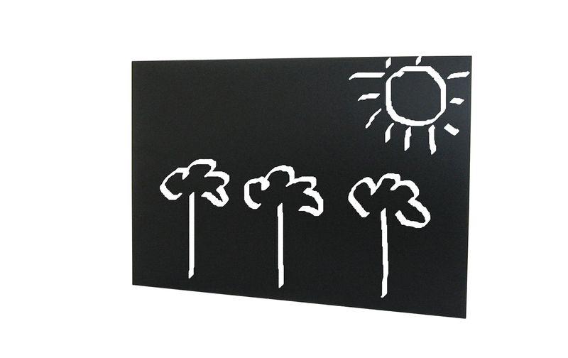 Wanddeko - Rahmenlose Kreidetafel Memotafel 60 x 30 cm - ein Designerstück von Zimtzucker2015 bei DaWanda