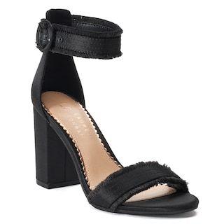 LC Lauren Conrad Romantic Womens High Heel Sandals
