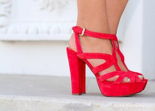ccf1c0c4cd443 My favourite, red heels! | Fashionista | Shoes heels pumps, Shoes, Heels