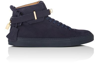Mens Mens 100MM Grained Nubuck Sneakers Buscemi