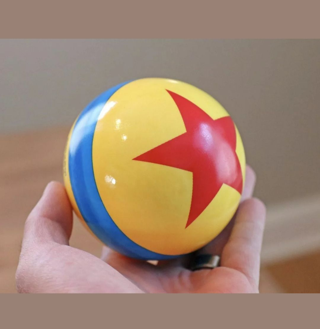 Disney Parks Pixar Fest Luxo Jr Thick Bouncy Ball New Disneyland Pixar Pier 4 Inches Nwt Park Maps Included Price Is Firm Toy Story Toy Story Bedroom Pixar