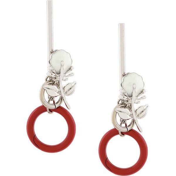 Marni Metal Earrings in Metallics QJ611hLCSh