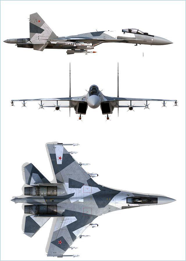 Su-35 Sukhoi Multifunctional Multirole Fighter Aircraft
