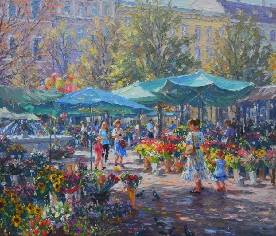 Plac Solny 2020 Art Painter Impressionist