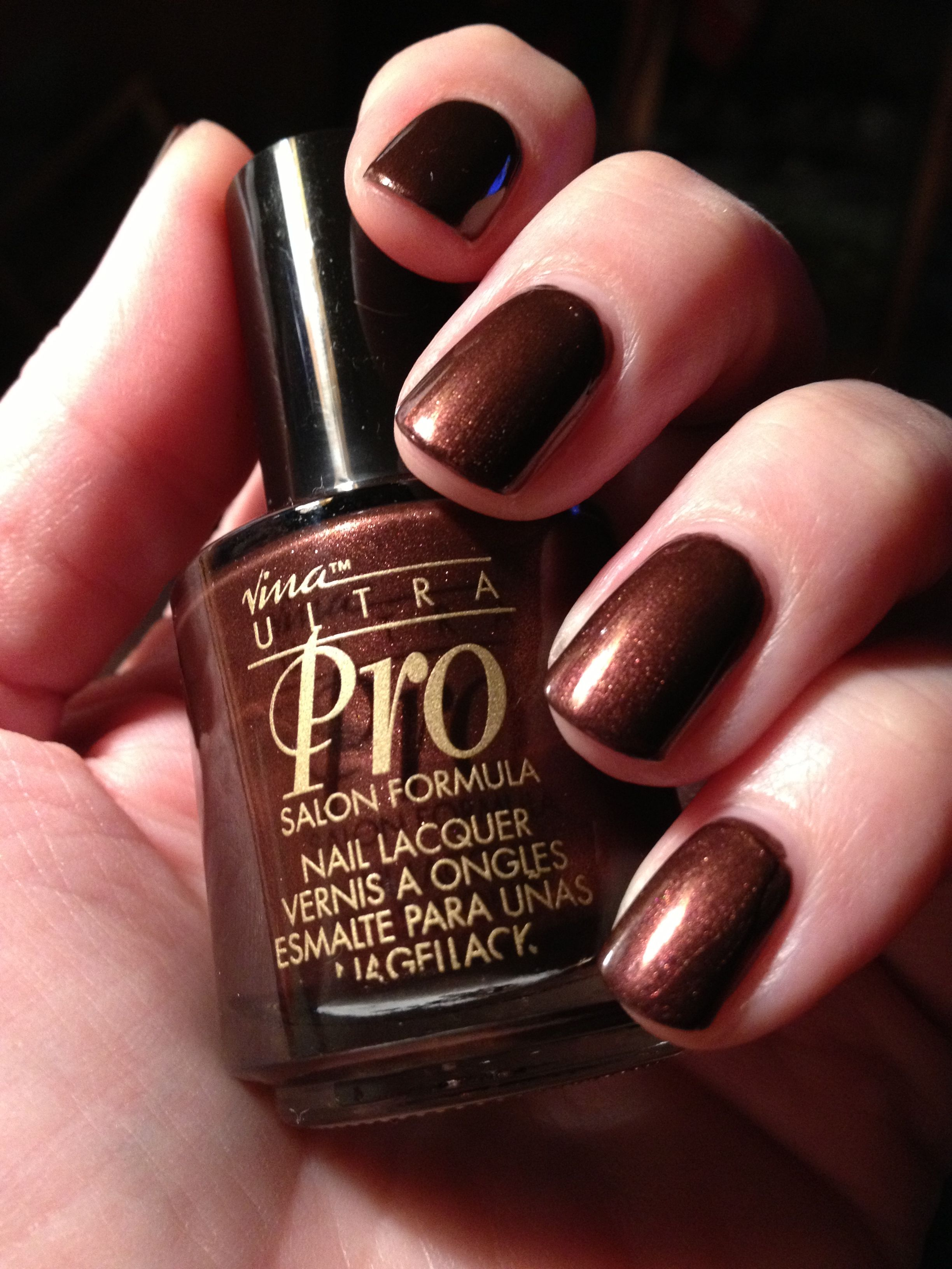 Nina Ultra Pro nail polish - Maple Syrup My favorite polish EVER ...
