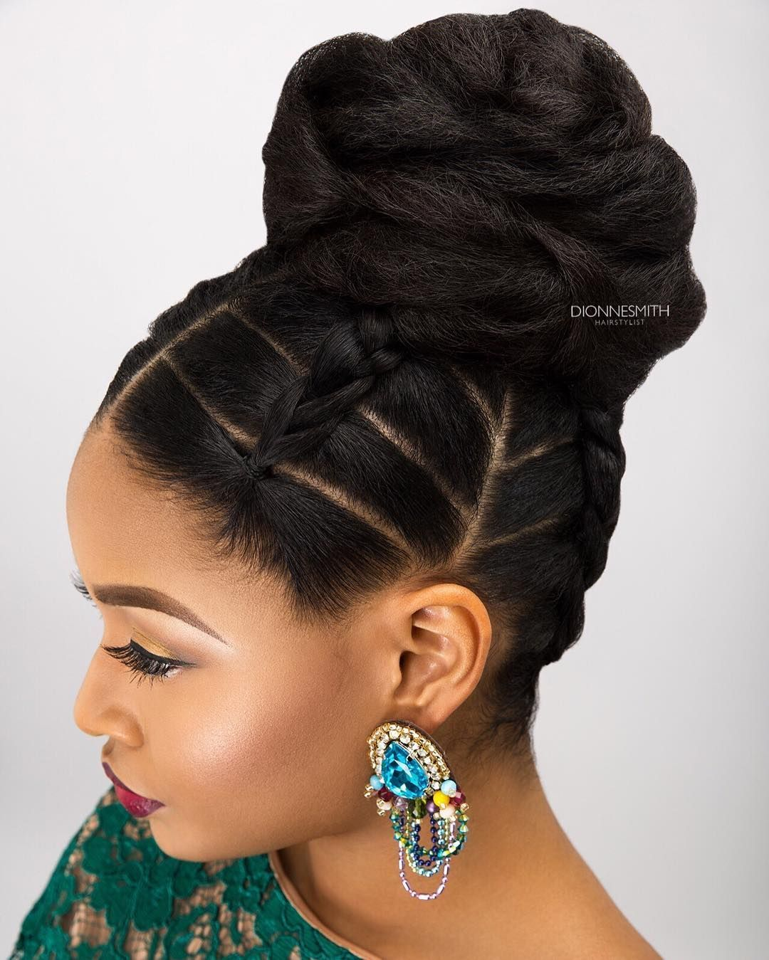 45 Gorgeous Natural Hairstyles For When You Want To Look Glam Diy