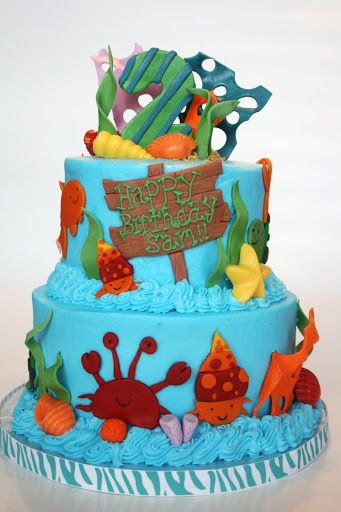 And Everything Sweet Under the Sea Cake Sea Creature Cakes