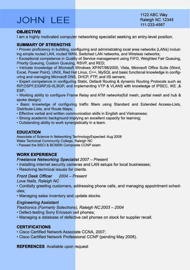 http://information-gate.net/resume-letter/cv-format-for-entry-level ...