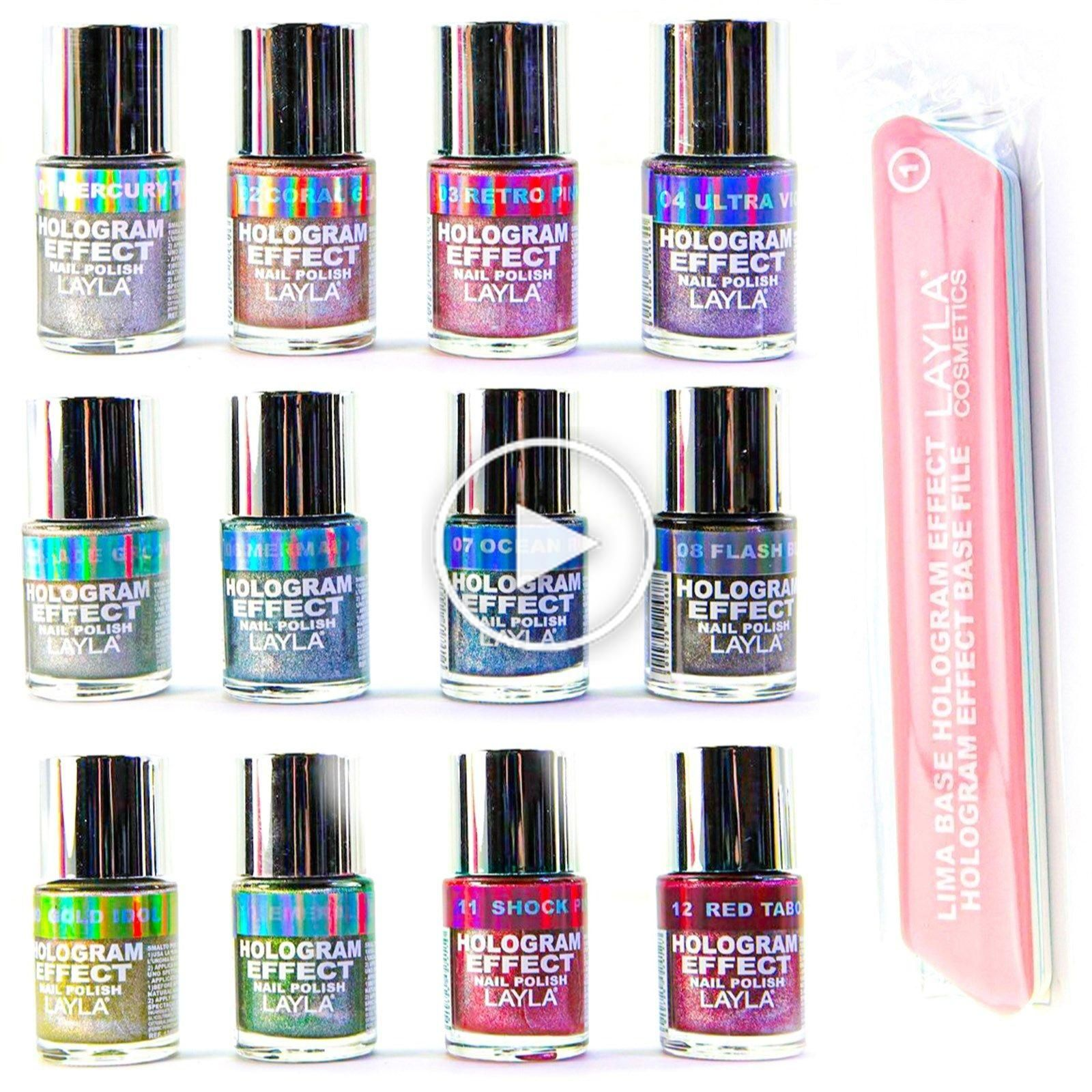 Fun Holographic Vernis à ongles