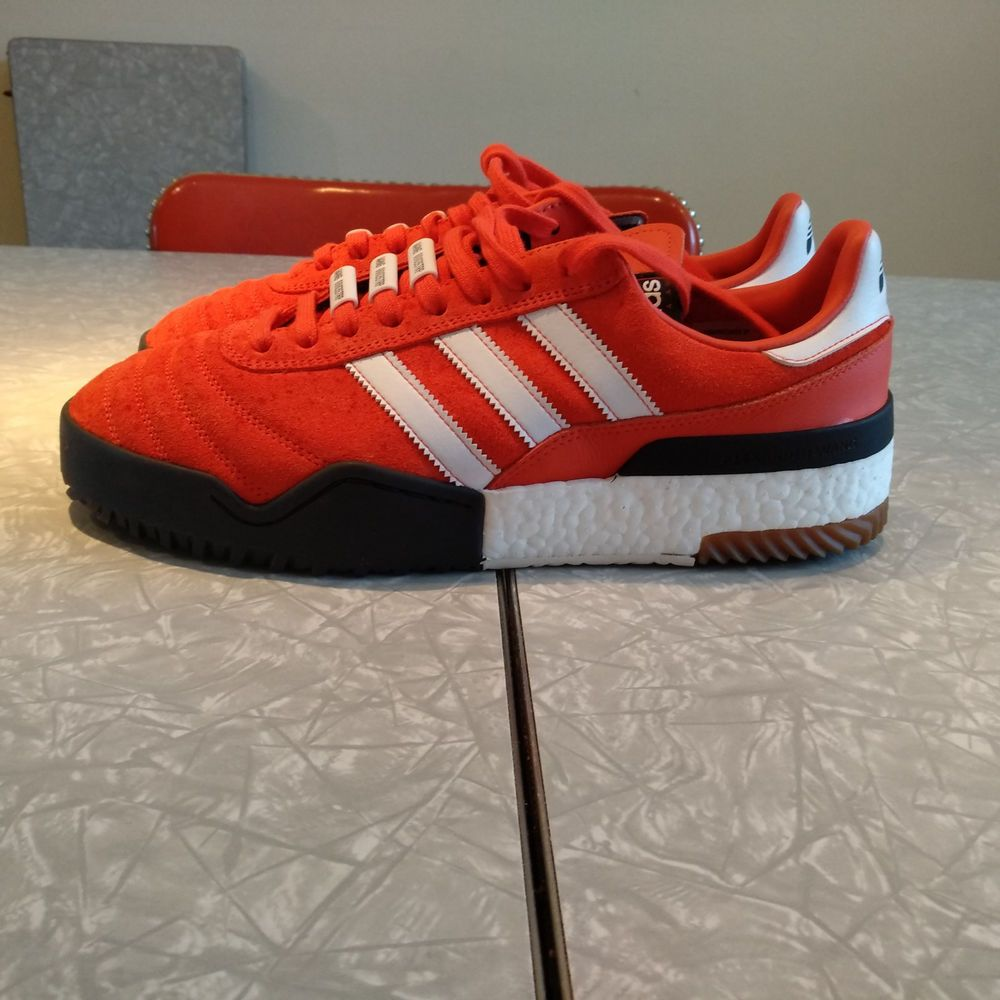 reputable site af8bf 716aa Adidas AW BBALL Soccer Alexander Wang Bold Orange Mens Size 10.5 fashion  clothing shoes accessories mensshoes athleticshoes (ebay link)