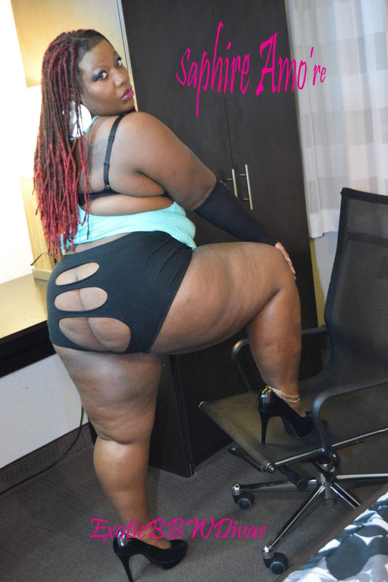 Pluscious Saphire Amore Black Chicks Photo Viewer Full Figured