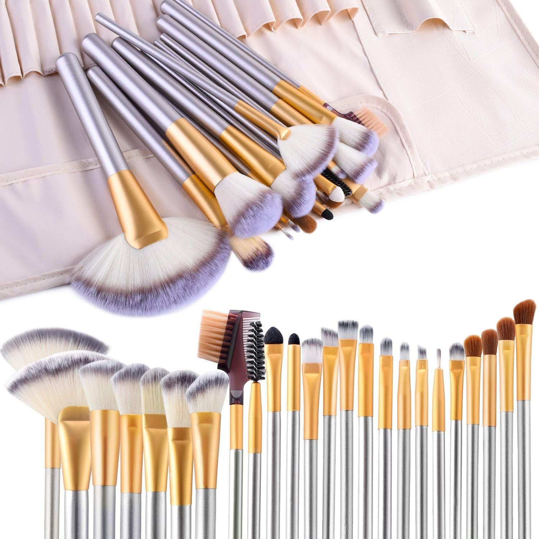 24 pcs brush kit Makeup brush set, Makeup brush set best