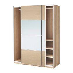 IKEA   PAX, Armoire Penderie, 150x66x201 Cm, Amortisseur Pour Porte  Coulissante,