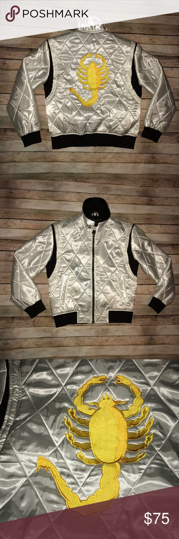 Official Ryan Gosling Drive Scorpion Jacket Size M Official Ryan Gosling Drive Scorpion Jacket Size M Vintage Ja Ryan Gosling Ryan Gosling Drive Things To Sell [ 1740 x 580 Pixel ]