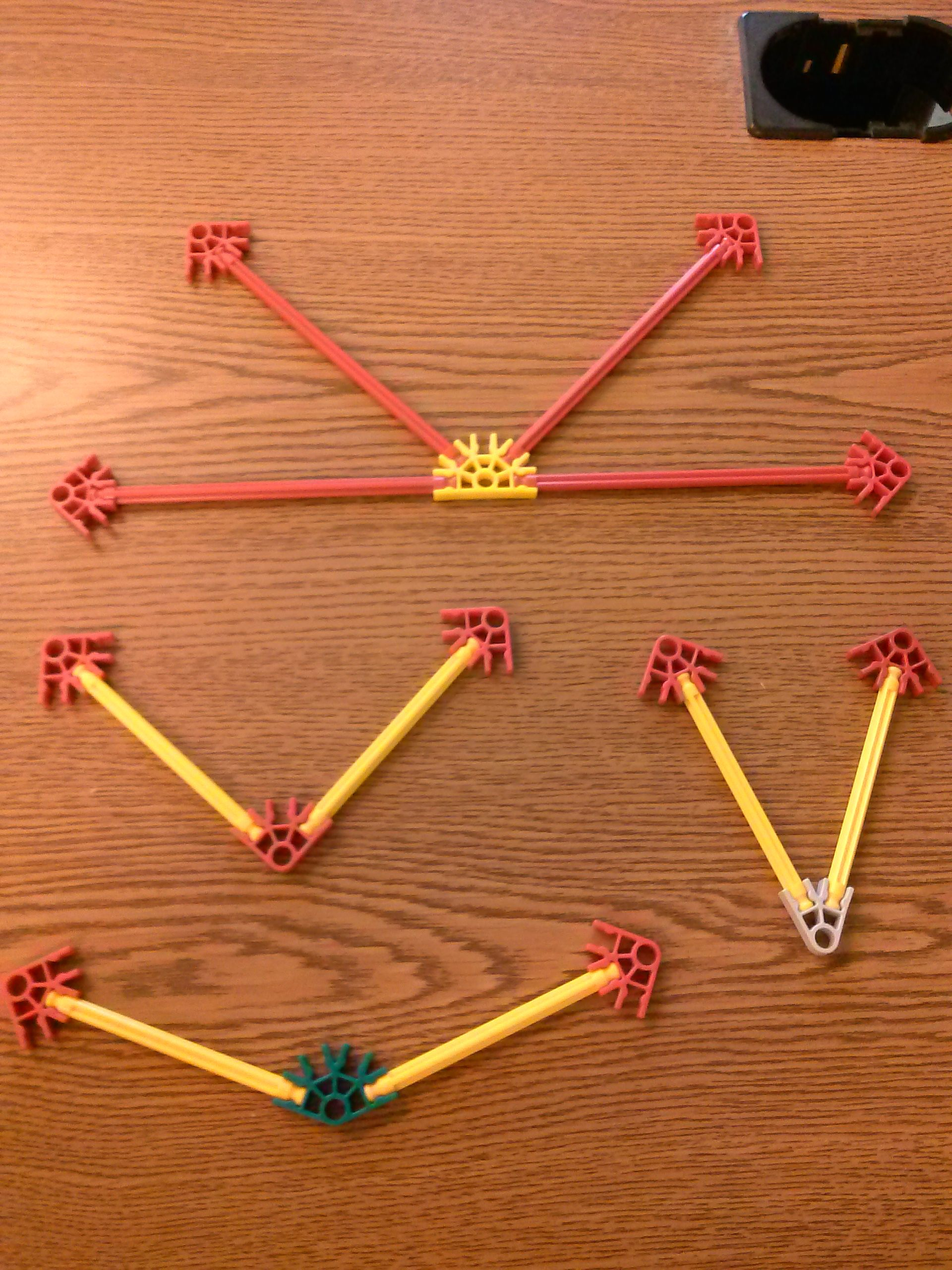 K Nex Can Be Used To Help Your Students Learn About Angles