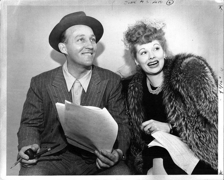 Lucille Ball And Bing Crosby In The 1940's