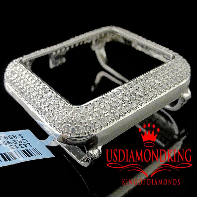 sneakers for cheap a9728 08ecf Details about Apple Watch Bezel Case 14K Gold Over Sterling Silver ...