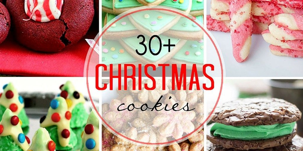 30+ of the Best Christmas Cookies - A Dash of Sanity