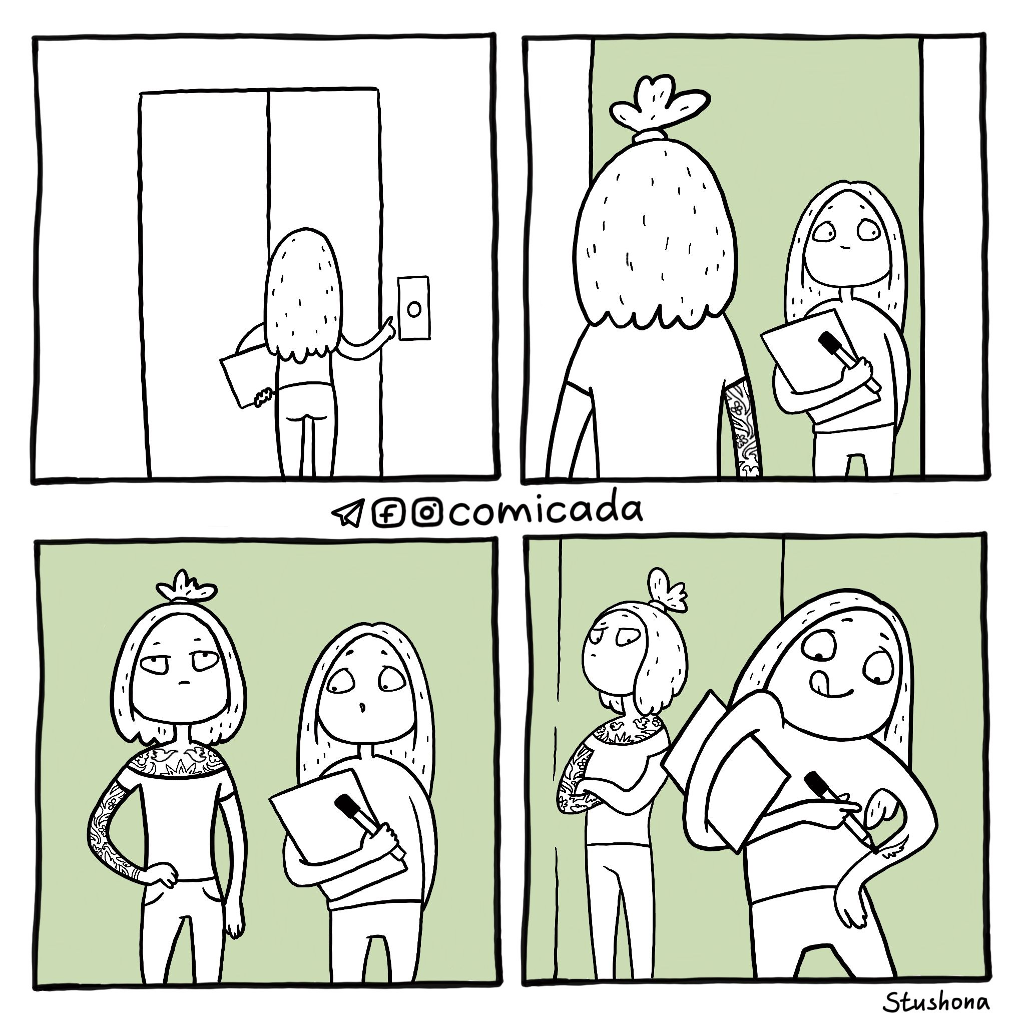 Комиксы простые картинки