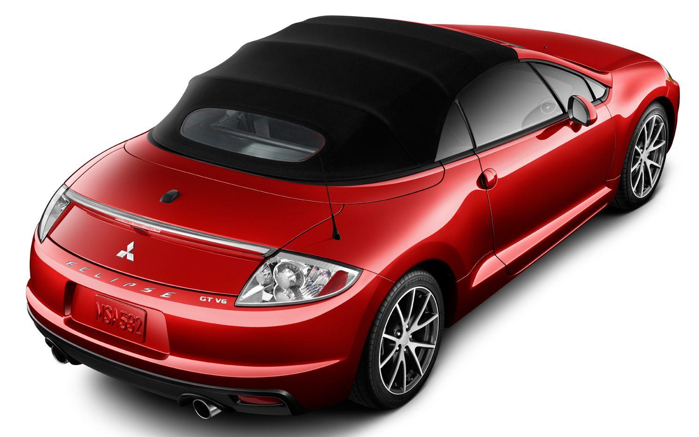 2012 Mitsubishi Eclipse Spyder Rear. Love the color