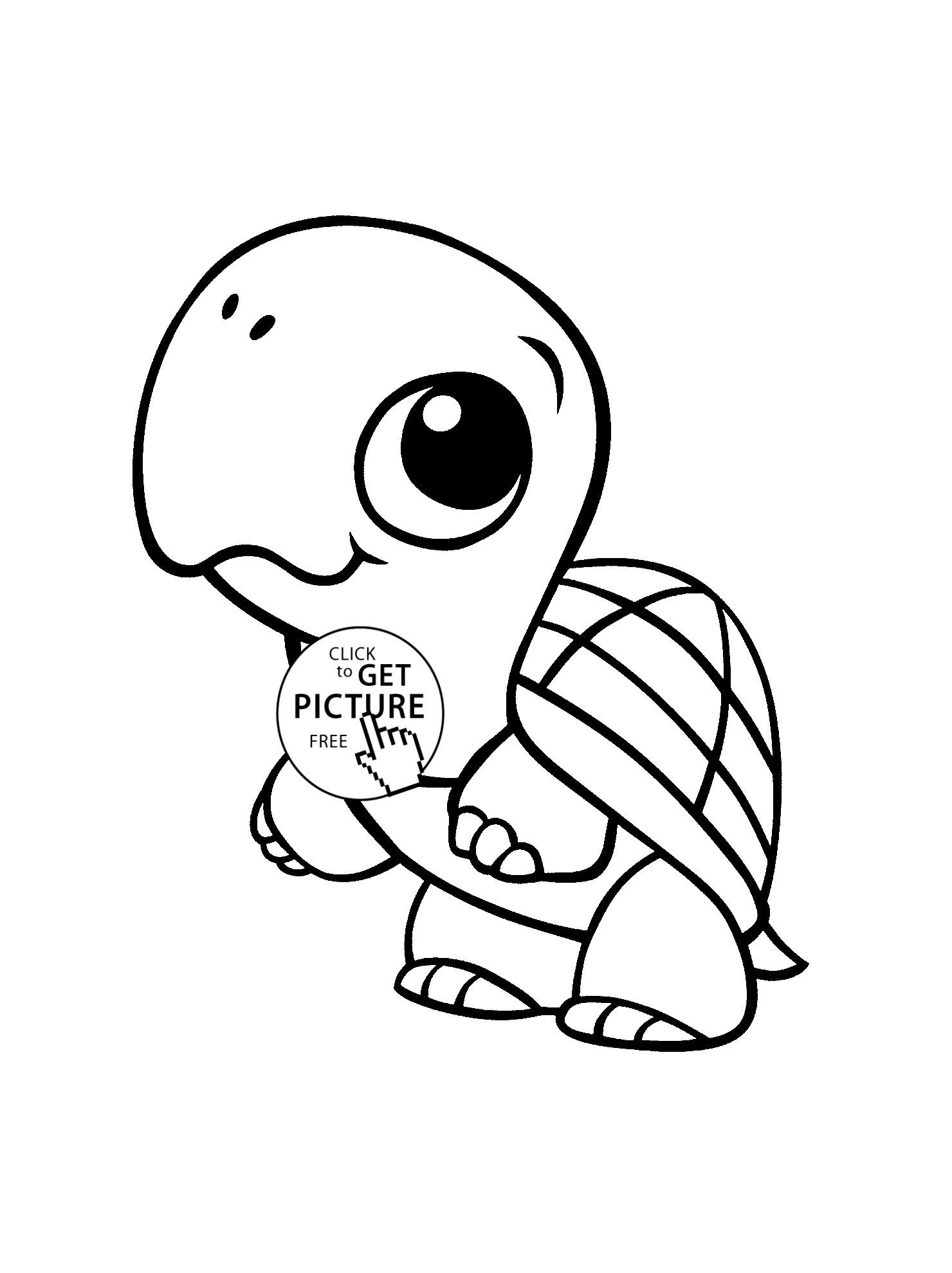 Coloring Page Of A Sea Turtle Youngandtae Com Animal Coloring Pages Turtle Coloring Pages Cute Coloring Pages