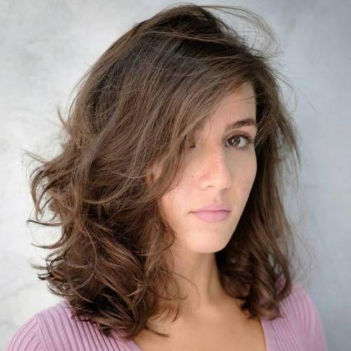 قصات شعر للوجه البيضاوي الطويل و الممتليء و النحيف للنساء و الرجال Long Face Hairstyles Medium Length Hair Styles Medium Hair Styles