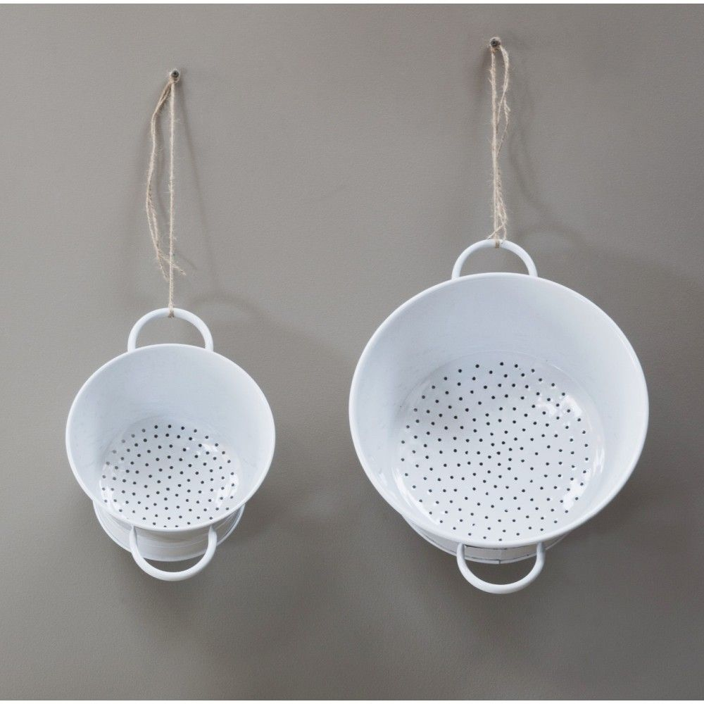 NEW...2 Sizes of Flat based Colanders | Kitchen Accessories | Ella's Kitchen Company