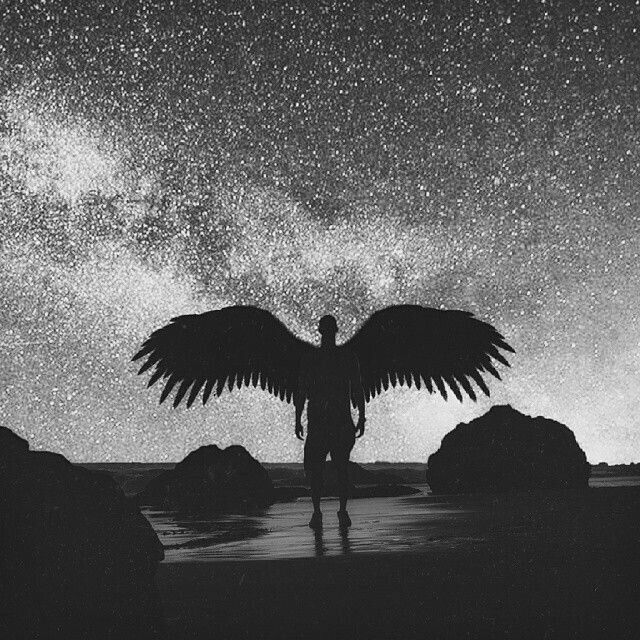 Мир без будущего | Картины с ангелом, Картины ангелов ...
