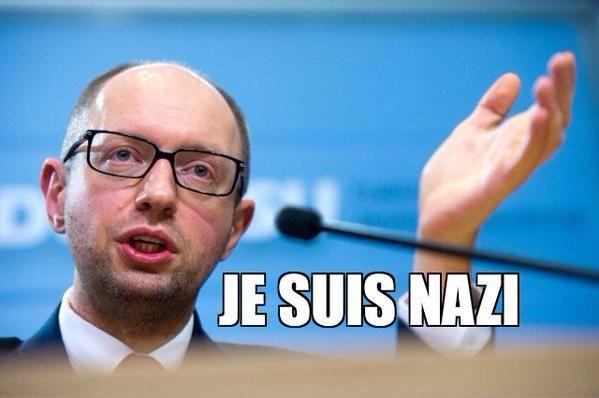 #Iatseniouk, la perversité incarnée, l'#Ukraine brune que nourrit la #France socialiste