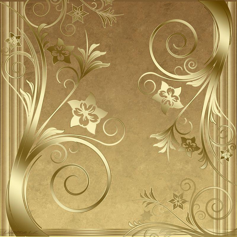 Конструирование, золотая открытка