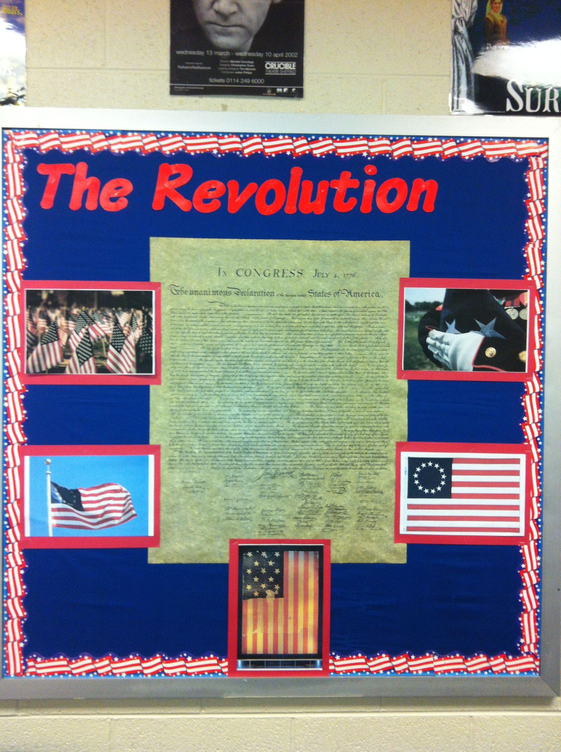 Revolutionary War Board