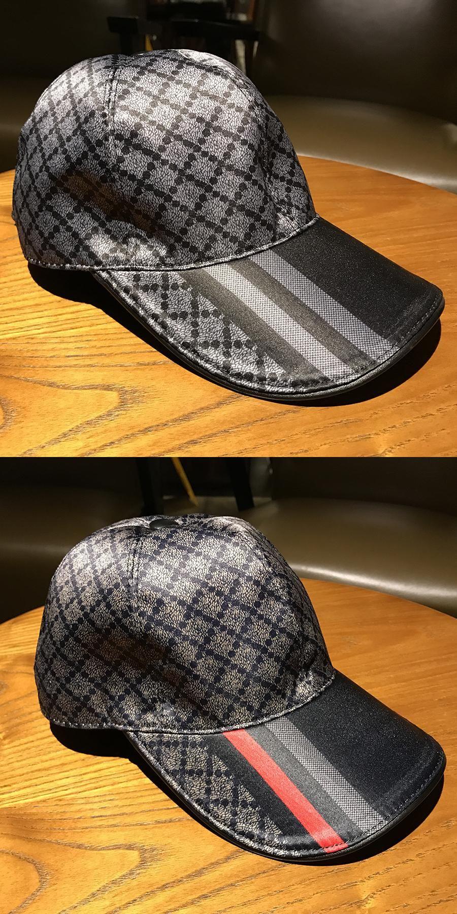 New Wholesale Baseball Cap Women Men Fashion Sport Plaid Desig Outdoor  Travel Sun Hat design Luxury 91dd76bddde