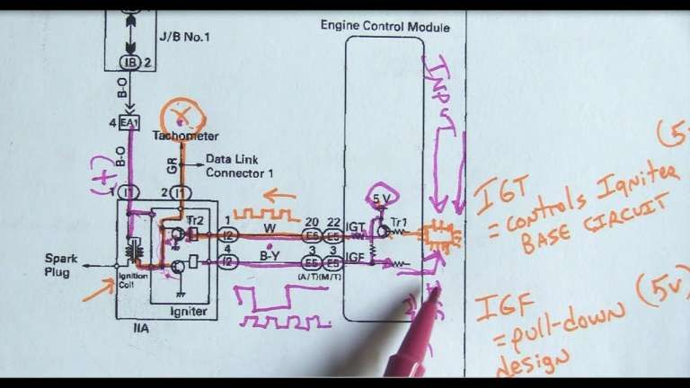 12 Toyota 5a Engine Wiring Diagram Engine Diagram Wiringg Net In 2020 Engineering Toyota Spark Plug