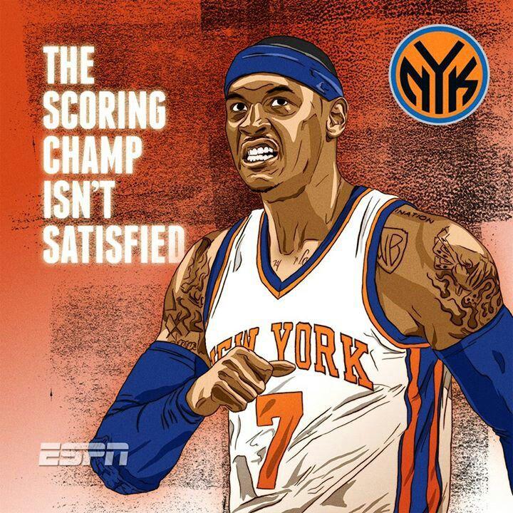 New York Need The Scoring Champ