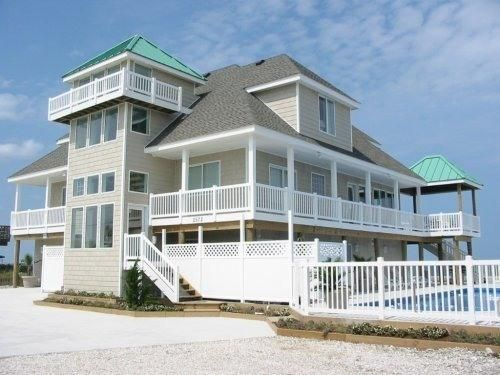 Sandbridge Beach Oceanfront Vacation Home Siebert Realty Virginia Beach Va Clearwater  Sandfiddler Road