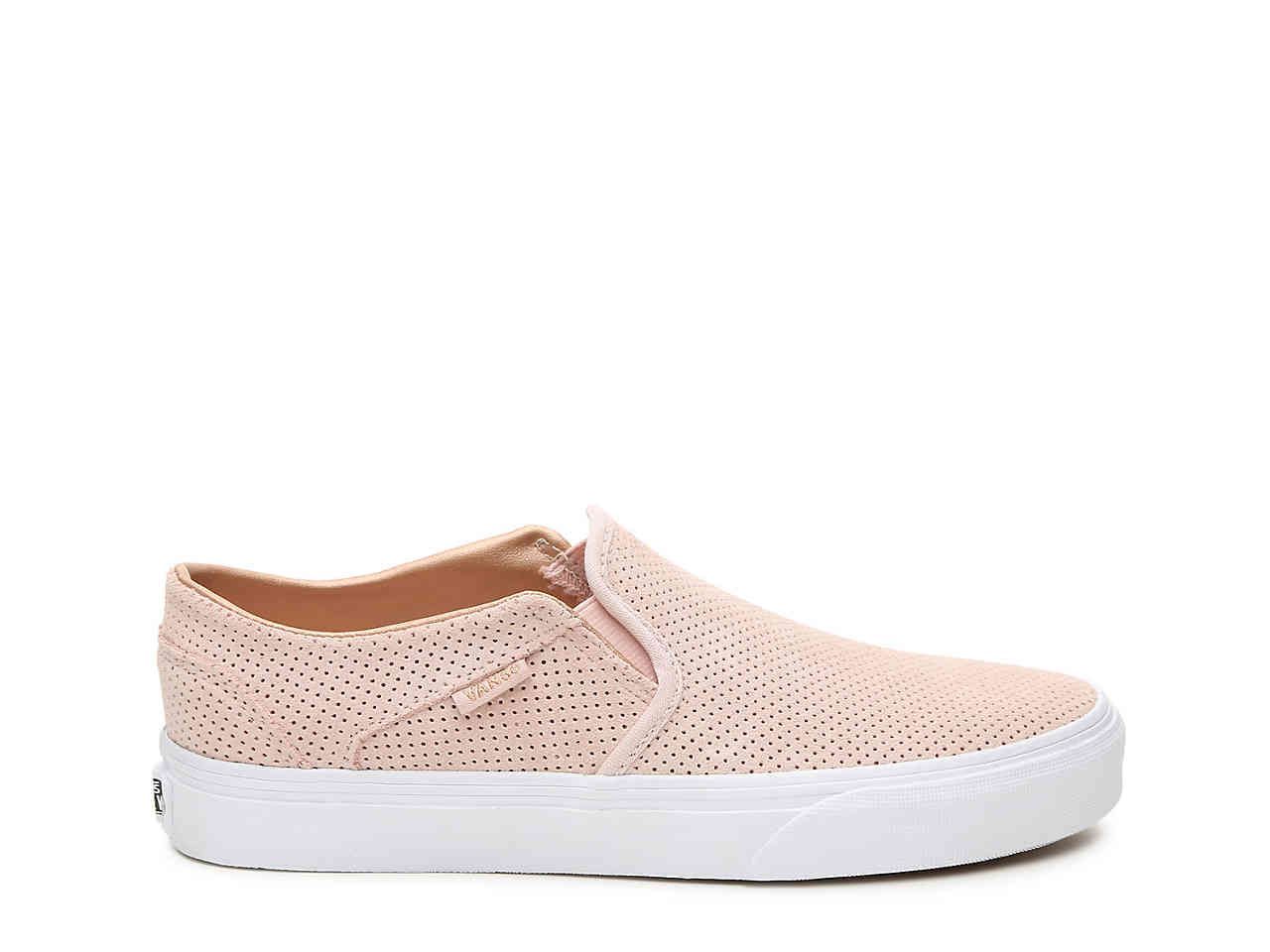8aead0014a4 Vans Asher Perforated Slip-On Sneaker - Women s Women s Shoes