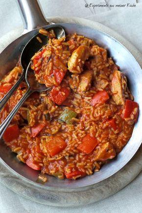 Paprika-Puten-Reis - Experimente aus meiner Küche
