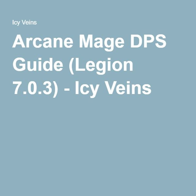 mage dps guide